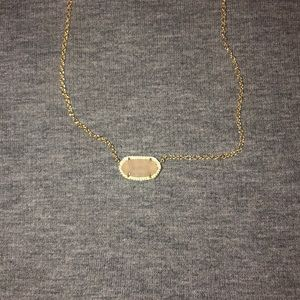quartz kendra scott necklace